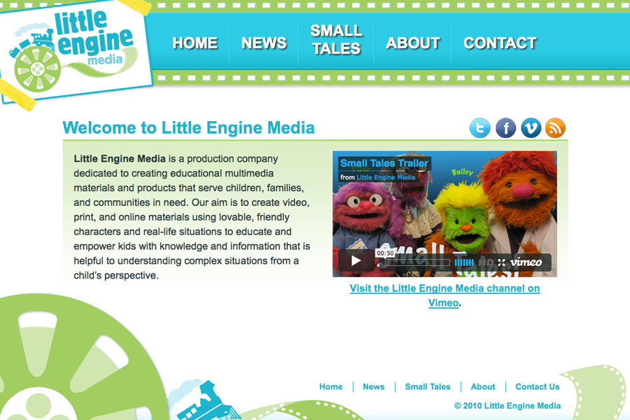 Little Engine Media screen shot